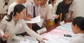 Hồ sơ đăng ký dự thi THPT quốc gia, CĐ-ĐH 2015