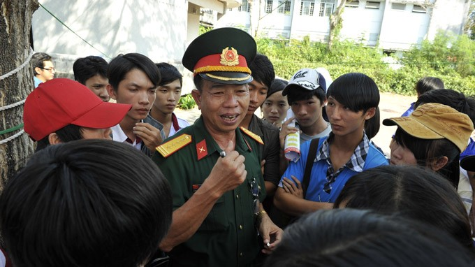 Các trường quân đội sẽ công bố kết quả thi Đại học 2013 sớm