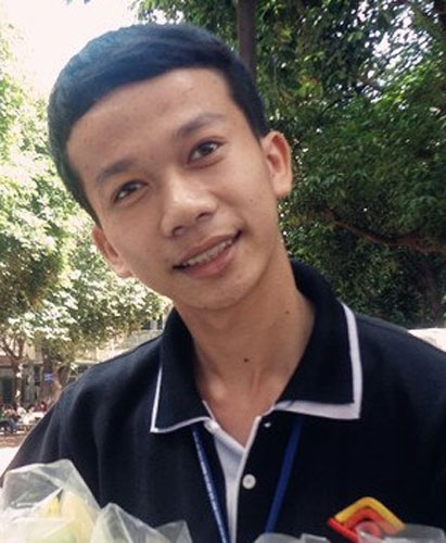 Phan Văn Tiên - thủ khoa khối C Trường ĐH Khoa học xã hội và nhân văn (ĐH Quốc gia TP.HCM)