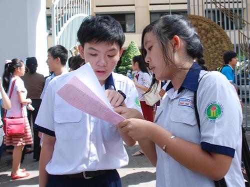 Điểm chuẩn vào lớp 10 ở Đà Nẵng năm 2013