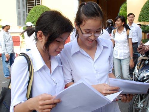 Điểm sàn đại học 2013 chính thức từ bộ GD-ĐT