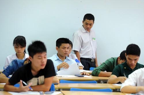 Các trường có thể tự chủ, tuyển sinh nhiều đợt từ 2014