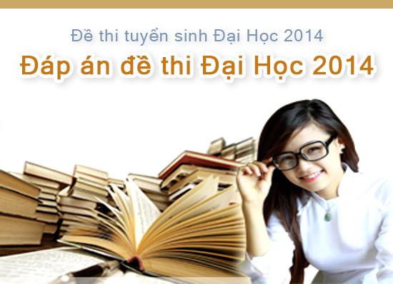 Đáp án đề thi CĐ môn Sử năm 2014 chính thức của bộ GD-ĐT